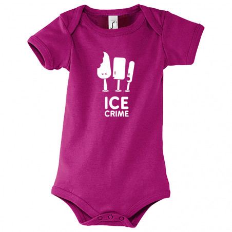 "Body bébé ""Ice Crime"""