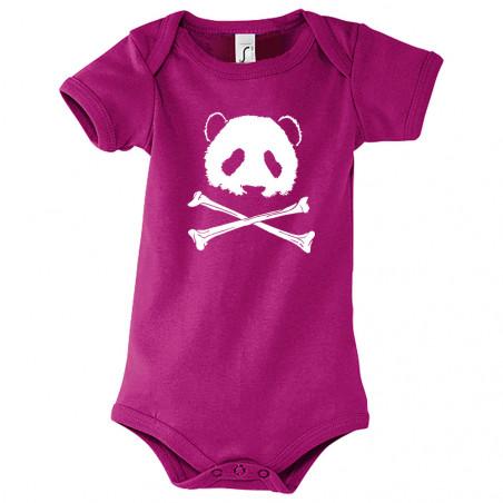 """Body bébé """"Panda Pirate"""""""