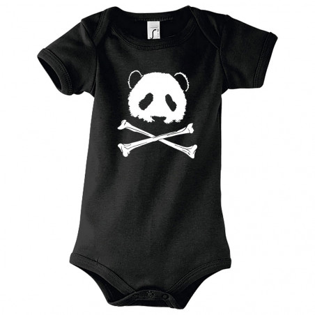 "Body bébé ""Panda Pirate"""