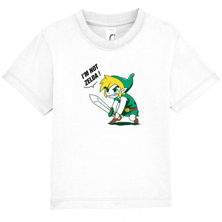 "Tee-shirt bébé ""I 'm not..."
