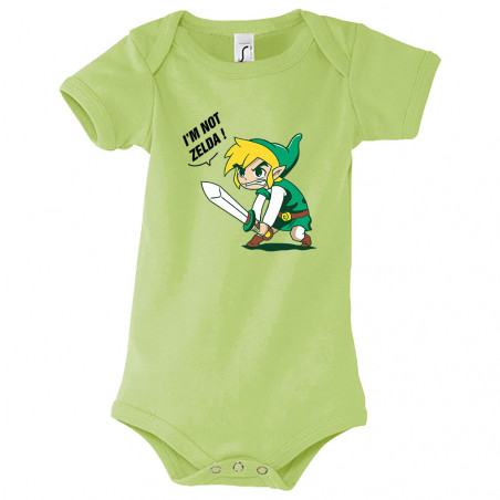 "Body bébé ""I 'm not Zelda"""