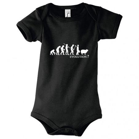 """Body bébé """"Evolution Mouton"""""""