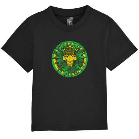 "Tee-shirt bébé ""Rasta Lion..."