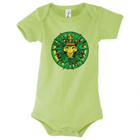 """Body bébé """"Rasta Lion King"""""""