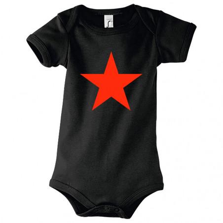 """Body bébé """"Etoile Rouge"""""""