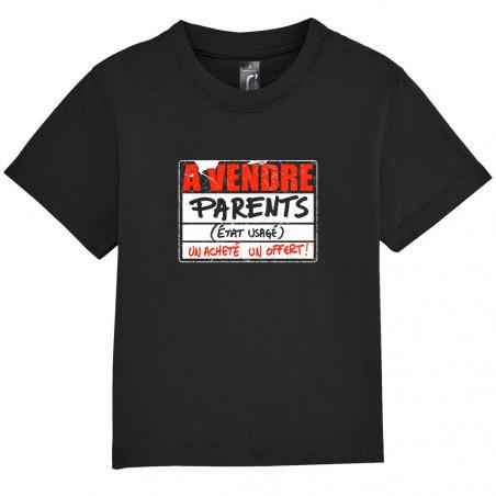 "Tee-shirt bébé ""A vendre..."