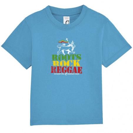 "Tee-shirt bébé ""Roots Rock..."