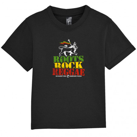 "Tee-shirt bébé ""Roots Rock..."