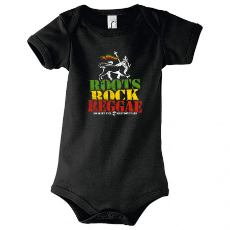 "Body bébé ""Roots Rock Reggae"""