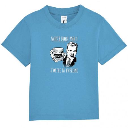 """Tee-shirt bébé """"Votez pour..."""