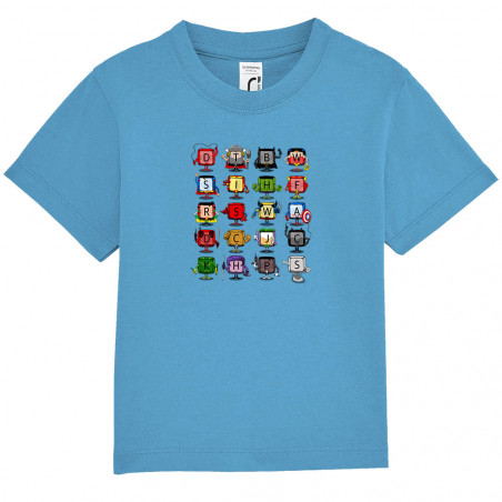 """Tee-shirt bébé """"Superheros..."""