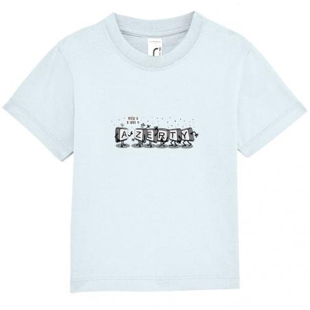 """Tee-shirt bébé """"Azerty"""""""
