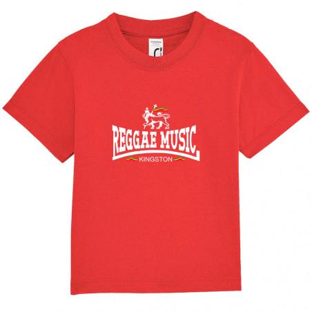 "Tee-shirt bébé ""Reggae..."