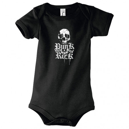 "Body bébé ""Punk Rock Never..."