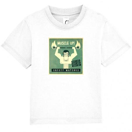 """Tee-shirt bébé """"Safety..."""