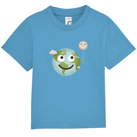 "Tee-shirt bébé ""Earth"""