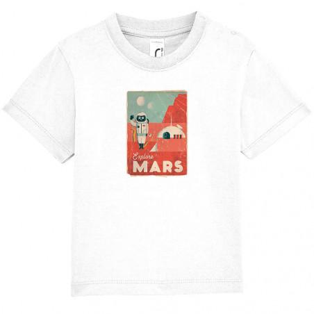 "Tee-shirt bébé ""Explore Mars"""