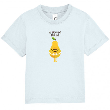 """Tee-shirt bébé """"Me prends..."""