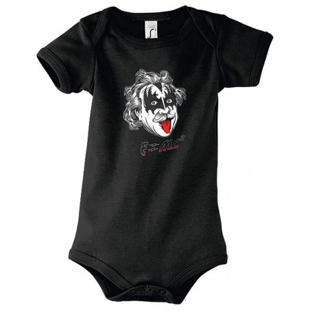 "Body bébé ""Einstein Kiss"""