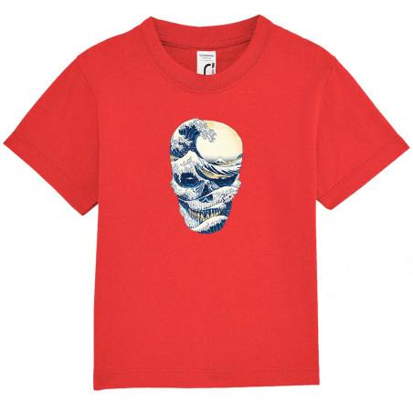 """Tee-shirt bébé """"Hokusai..."""