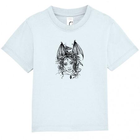 """Tee-shirt bébé """"Dragon Girl"""""""