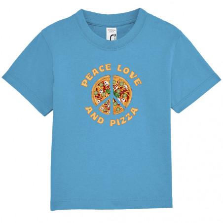"Tee-shirt bébé ""Peace Love..."