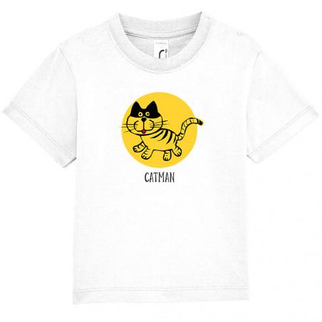 """Tee-shirt bébé """"Catman"""""""