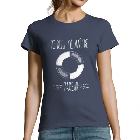 "T-shirt femme ""Ni Dieu ni..."