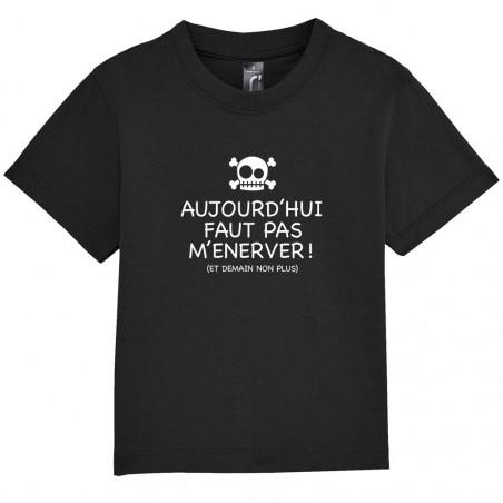 """Tee-shirt bébé """"Aujourd'hui..."""