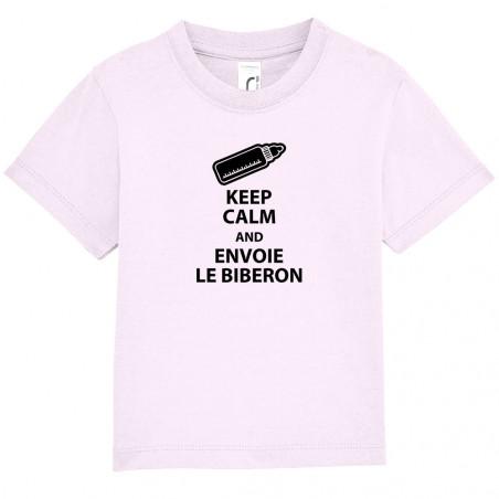 "Tee-shirt bébé ""Keep calm..."