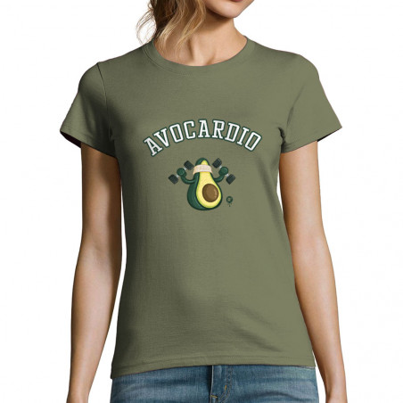 "T-shirt femme ""Avocardio"""