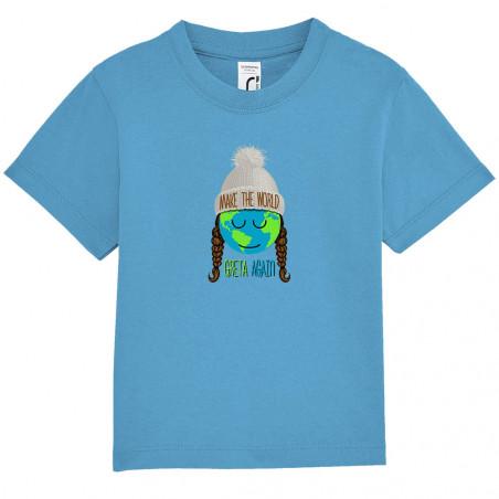 "Tee-shirt bébé ""Make the..."