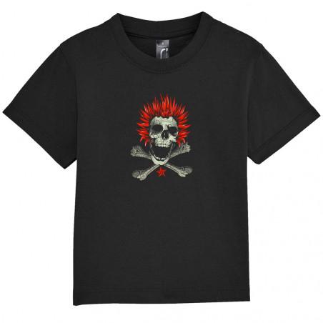 """Tee-shirt bébé """"Punk Skull 2"""""""