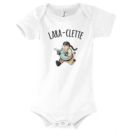 """Body bébé """"Lara-Clette"""""""