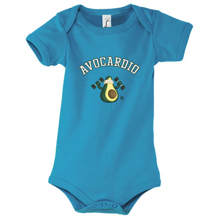 "Body bébé ""Avocardio"""