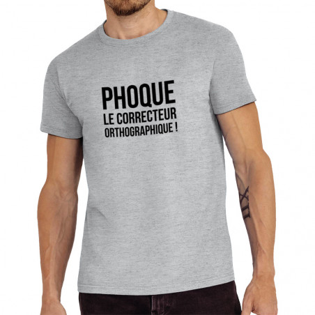 "Tee-shirt homme ""Phoque le..."