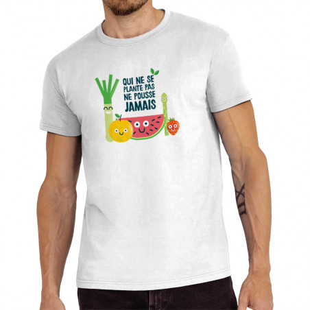 "Tee-shirt homme ""Qui ne..."