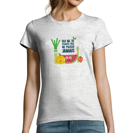"T-shirt femme ""Qui ne..."