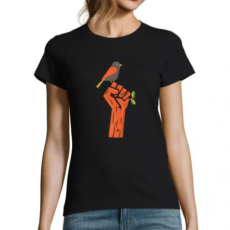 "T-shirt femme ""Résiste"""