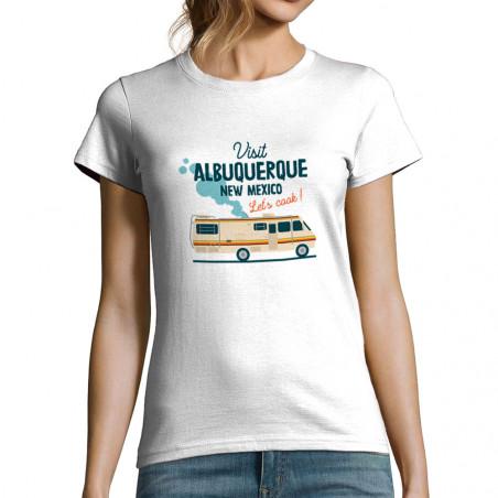 "T-shirt femme ""Visit..."