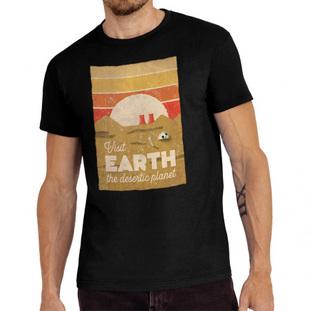 "Tee-shirt homme ""Visit Earth"""