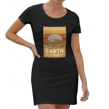 """Robe légère """"Visit Earth"""""""