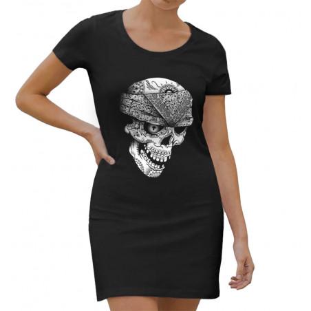 "Robe légère ""Bandana Skull"""