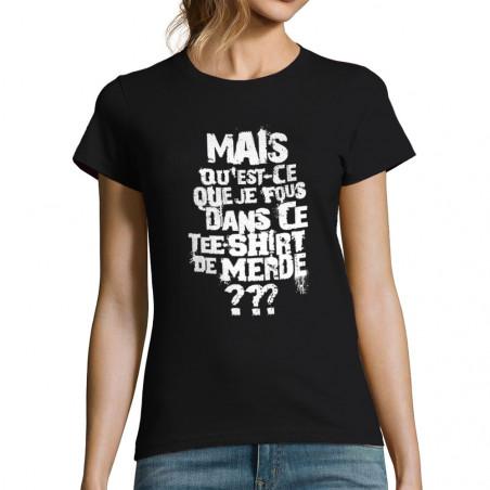 """T-shirt femme """"Mais..."""