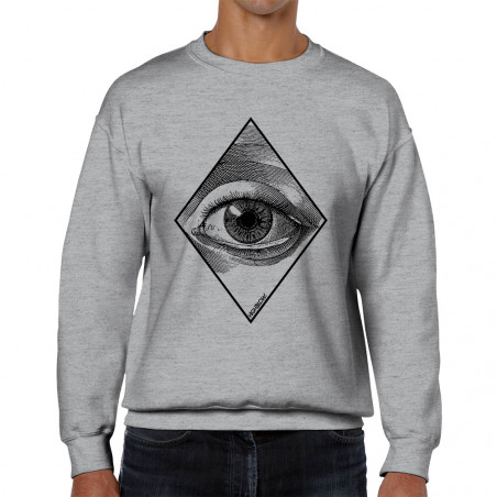 "Sweat homme col rond ""Eye"""