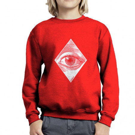 "Sweat enfant col rond ""Eye"""