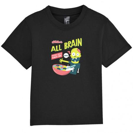 """Tee-shirt bébé """"All Brain"""""""