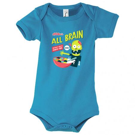 """Body bébé """"All Brain"""""""