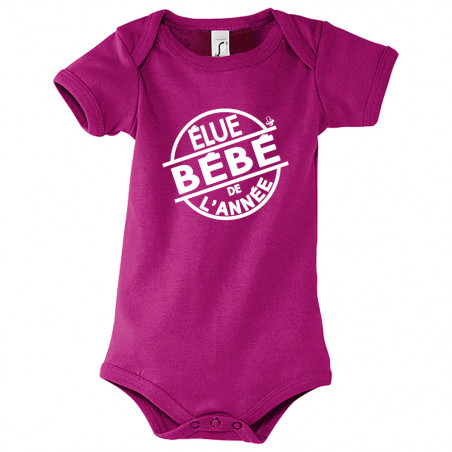 """Body bébé """"Elue bébé de..."""