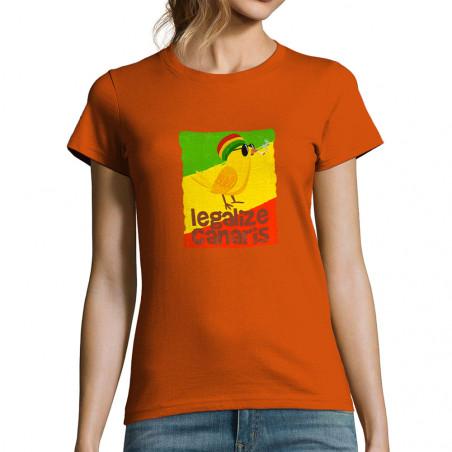 """T-shirt femme """"Legalize..."""
